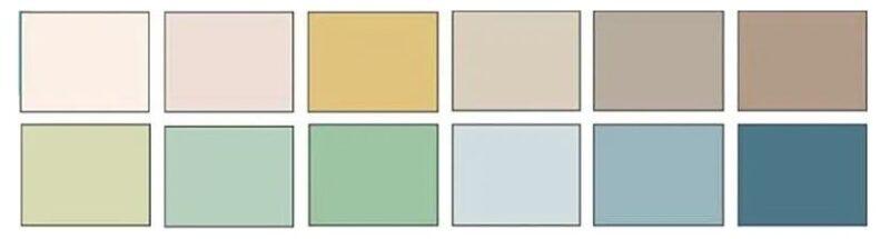 Diseño nórdico colores